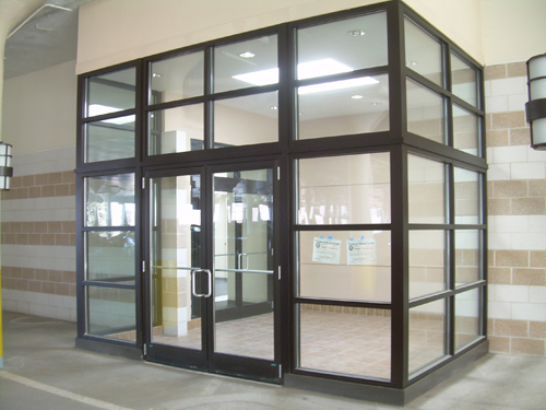 Aroyan Inc Glass Box Entrance