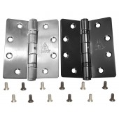 P092 A Stainless Steel Butt Hinge w/ Screws