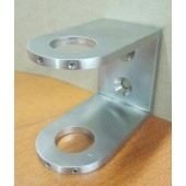 Wall Mounted Bracket For Sneeze Guard / Safety Divider / Partition Posts